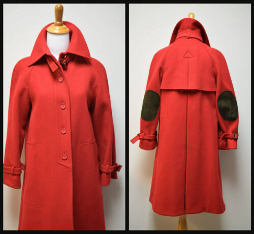Red True Overcoat Wool 6 Melton alvin's Vtg Size Fairbrooke Coat Trenchcoat Euc 74q6ZZ