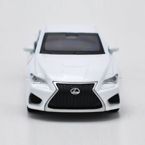 Lexus RC F 1:36 Scale Model Car Diecast Toy Vehicle Gift Collection White Kids
