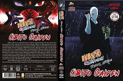 Anime DVD Naruto Shippuden Special Edition Obito Gaiden Movie English Dub