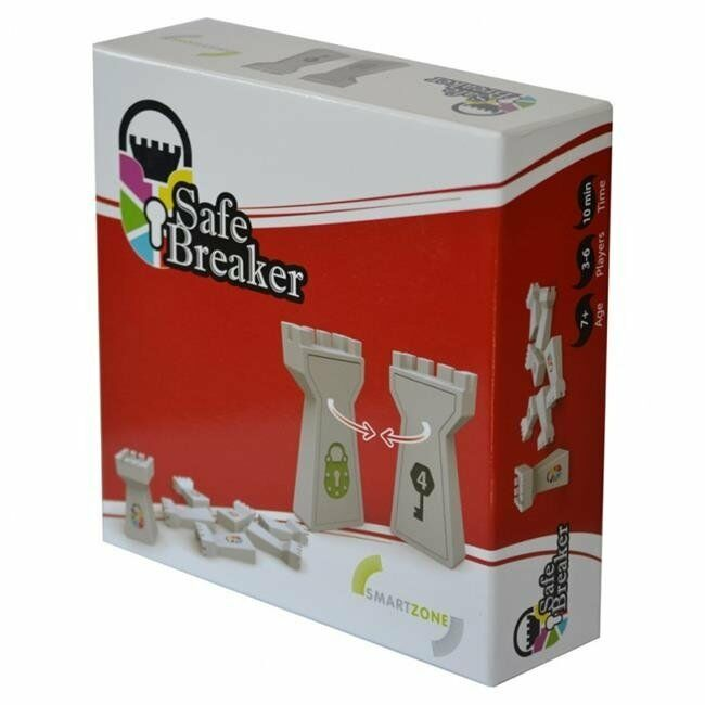Safe Breaker Smart Zone Farbes Numbers Memory and Deduction Board Game Smart Toy