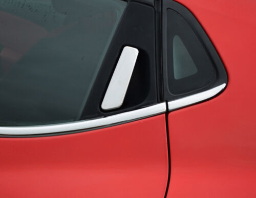 Chrome Door Handle Trim Set Covers W// Keyless Entry To Fit Renault Clio IV 12+