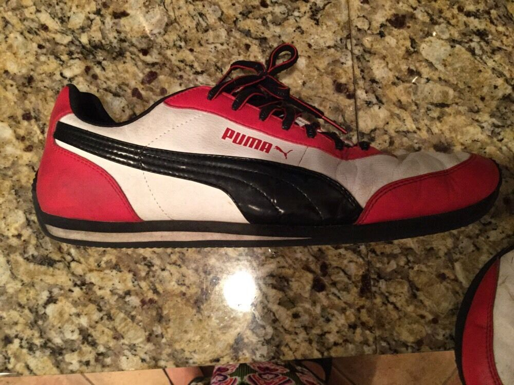 RETRO BLACK RED PUMA JAZZY SHOES PACKED AWAY FOR YEARS SUPER KOOL NICE CONDITION The most popular shoes for men and women
