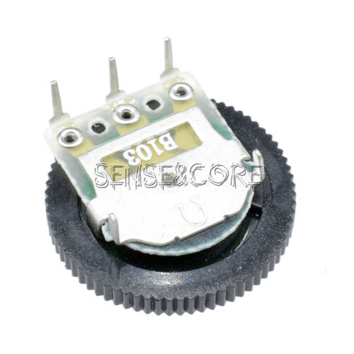 5PCS B103 Gear Potentiometer 16 X 2MM GM 10K Single Joint Dial Potentiometer