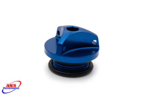 SUZUKI GSF 600 650 1200 1250 BANDIT 1995-2010 AS3 OIL FILLER PLUG BLUE