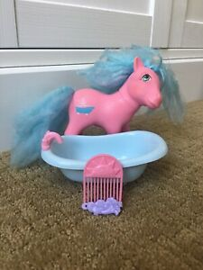 My-Little-Pony-Mlp-G1-SWEET-SUDS-Perfume-Puff-Pony-Vintage-Collectors