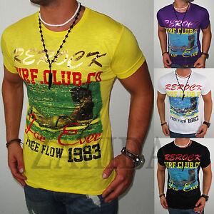 ZAHIDA-Herren-T-Shirt-Party-Clubwear-Club-Beach-Shirt-Polo-S-M-L-XL-t-6-3