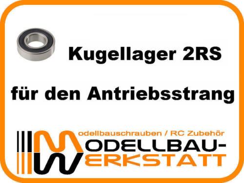 KUGELLAGER-SET Team Associated RC10 B4.2 B4.1 T4.2 T4.1 FT Asso ball bearing kit