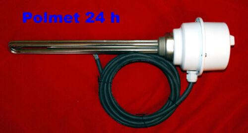 Heizstab 3x2,0 KW mitThermostat 6//4 Zoll Elektroheizelement Heizpatrone