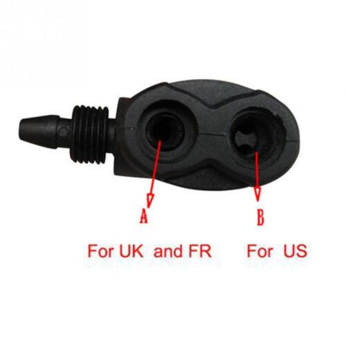 Bicycle Pump Parts Adapter Dual Head F//V A//V Schrader//Presta Valve Convertor t