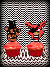 12 Five Nights at Freddy's Inspired Cake Topper/Party Supply/Video Games