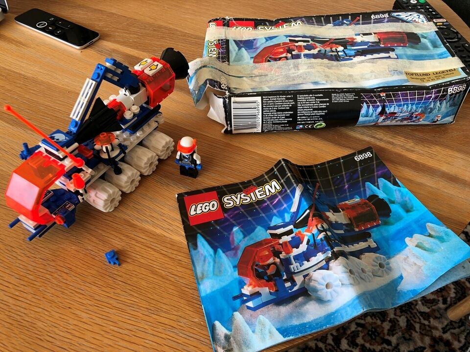 Lego System, 6898 Ice planet