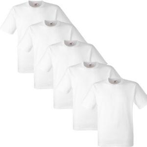 1-5-10-20-PACK-MENS-FRUIT-OF-THE-LOOM-WHITE-COTTON-T-SHIRT-TSHIRT-TEE-S-5XL-LOT