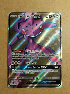 Genesect-GX-204-214-Lost-Thunder-Ultra-Rare-Near-Mint-Pokemon-Card-Full-Art