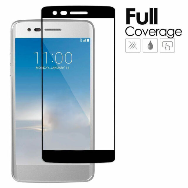 premium selection 1a861 d667e for LG K10 2017 / Lv5 - Full Cover Tempered Glass Screen Protector Film