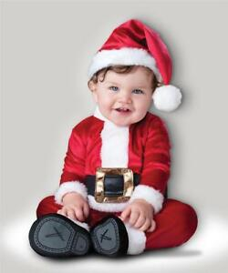 85334c1bda68 Image is loading BABY-SANTA-CLAUS-FANCY-DRESS-COSTUME-FATHER-CHRISTMAS-