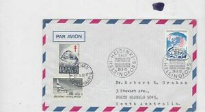 finland 1972 stamps cover  Ref 8483