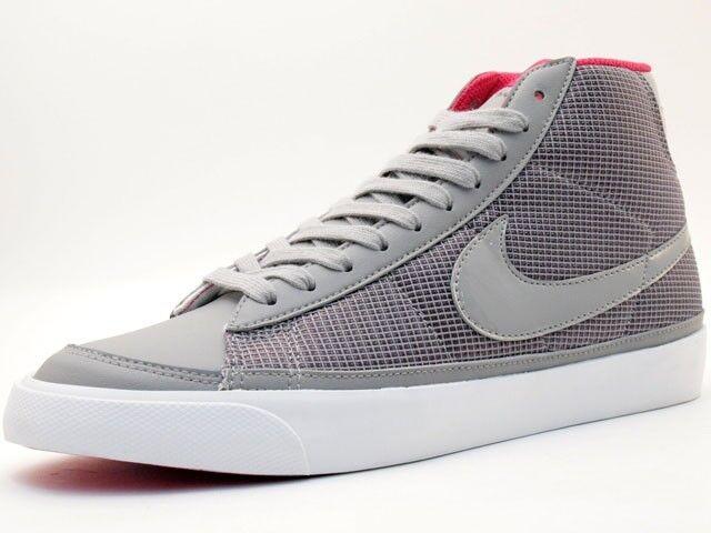 NIKE Blazer MID 09 ND High Gr:46 Retro Grau Sneaker Vintage Schuhe Grey Force