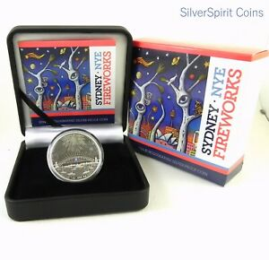 2014-SYDNEY-FIREWORKS-HOLOGRAM-1oz-SILVER-Coloured-Proof-Coin