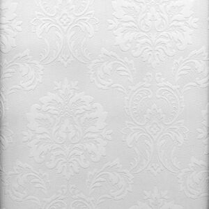 Bon Image Is Loading Easy Textures Damask Paintable Wallpaper By Brewster 32808