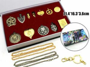 12PCS-JoJo-039-s-Bizarre-Adventure-Higashikata-Josuke-Necklace-Cosplay-Pendant-Box
