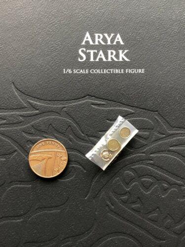 ThreeZero GoT Game of Thrones Arya Stark Coins loose 1//6th scale