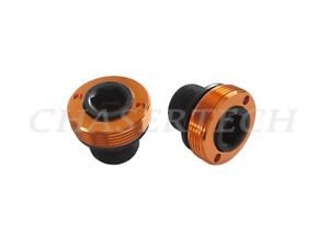 Details about New MTB Road Bike M15 ISIS Cr-Mo Bottom Bracket Crank Axle  Bolts Black/Orange