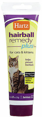 Hartz Hairball Remedy Plus for Cats & Kittens