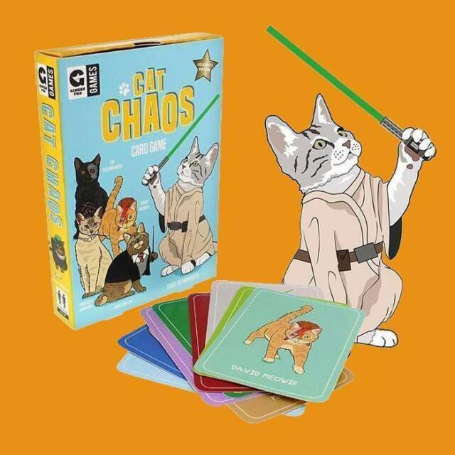 Crazy Cat Chaos Card Game