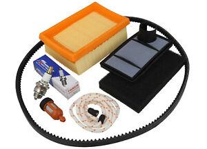 Spark Plug Fuel Filter Air Service Kit Fits STIHL TS400 V Drive Belt