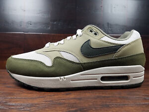 brand new 5e98d c8541 Image is loading Nike-Air-Max-1-Medium-Olive-Sequoia-Military-