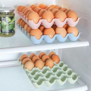 Plastica Egg Storage box Container Holder case per 10/uova