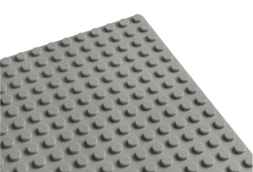 25,5cm x 25,5cm Wange 8806 Base-Grundbauplatte 32X32 Noppen Hellgrau NEU