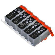 5 CANON Patronen + Chip PGI-520 bk black MP 990 MX 860 MX 870 TINTE NEU