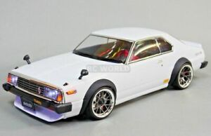 1-10-RC-Car-BODY-Shell-NISSAN-SKYLINE-HT-2000-190mm-FINISHED-WHITE