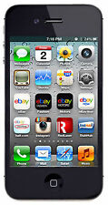 New Apple iPhone 4s - 16GB - Black (Fido) Smartphone