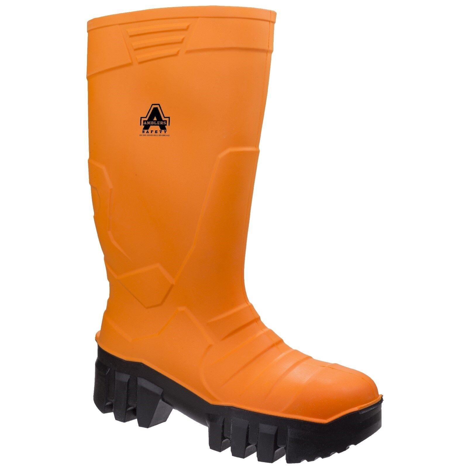Amblers AS1010 S5 Da Uomo Stivali Di Gomma Di Sicurezza Acciaio Punta TERMICA -20 Work Boots