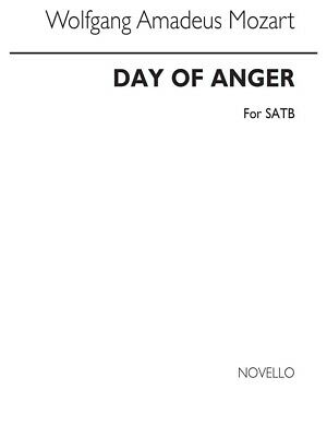 Adaptable Day Of Anger Learn To Play Classical Single Sheet Choral Sheet Music Book