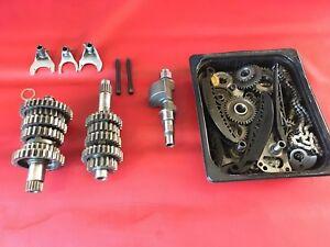 A4 Aprilia Mille RSV Tuono  1000 Bj1999  Getriebe Getriebeteile Motor Teile