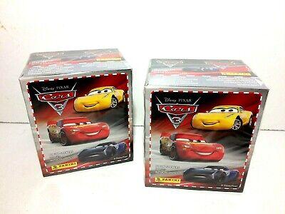 Cars 3 Disney Box 36 Bustine Figurine Panini