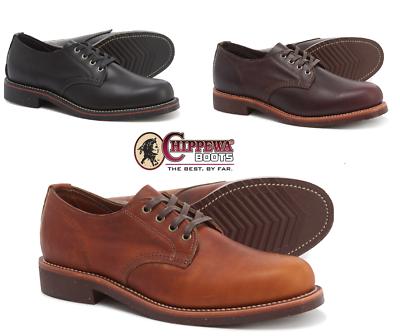 Herren 4 Farben Inch Grössen Chippewa Oxford Leder Schuhe Rj4qAc35L