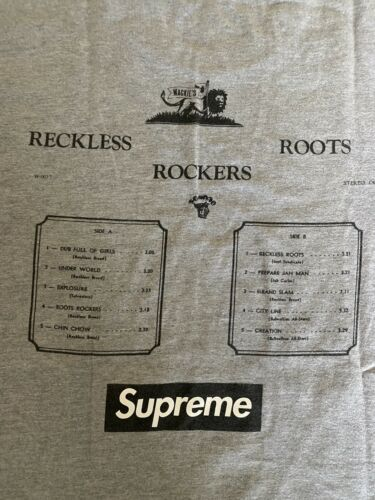 Supreme Reckless Roots Rockers Box Logo M