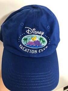 Disney-vacation-club-hat-Blue-embroidered-Mountain-MEMBER-WDW-tag