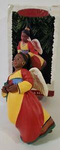 Hallmark Keepsake Ornament A Celebration of Angels 1996 Kwanzaa Kinara