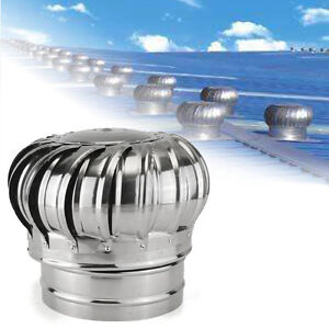 Stainless Steel Roof Ventilator Wind Turbine Air Vent