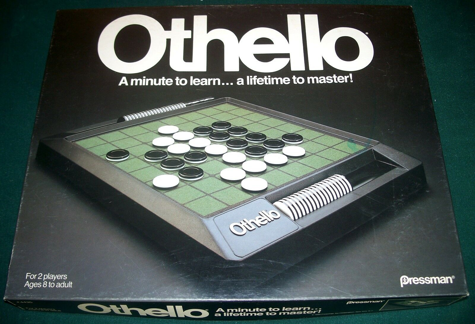 1990 Pressman OTHELLO Game - Never Used Used Used - Sealed Parts c376df