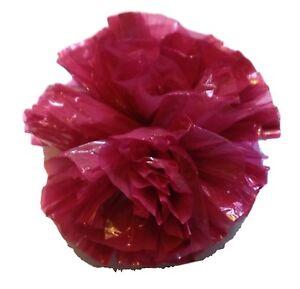 "25 Car Limo wedding Decoration Plastic Pom Poms Flower 4/"" hot pink"