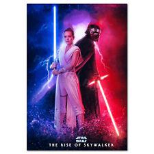 Z80 Star Wars The Rise of Skywalker 2019 Episode IX Movie Poster Art Silk Decor