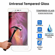 9H Tempered Glass Guard Screen Protector For Xiaomi Redmi Note 4 (Universal 5.5)