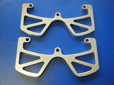 Cnc De Aluminio guardia Head Protectores Con Corte salidas Moto Guzzi V35 V50 V65 V75