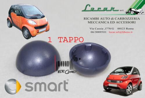 1 TAPPO GRIGIO VIOLA DEVIO LUCI SMART FORTWO 450 9//1998 /> 6//2007 VITE ACCESS